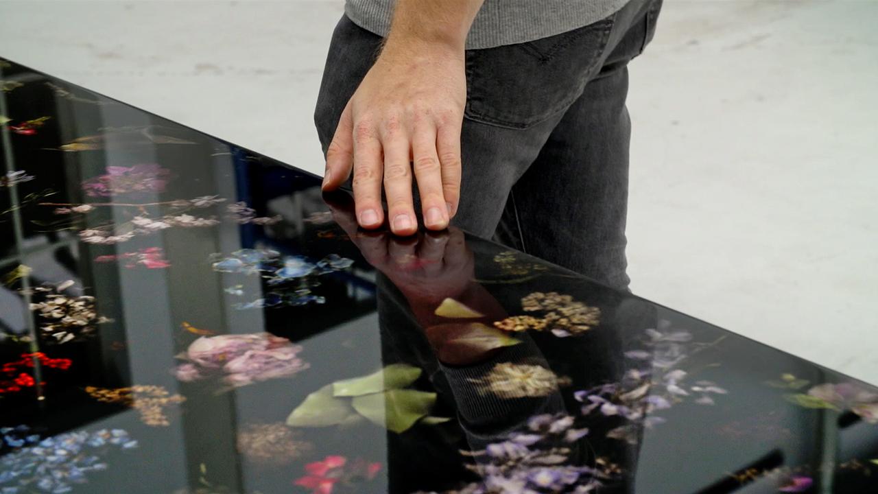 Work Marcin Rusak and hand