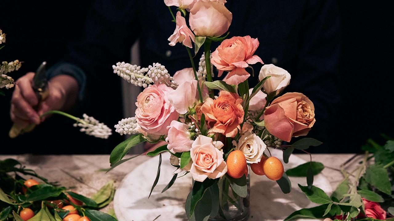 Flowers bouquet from Putnam & Putnam