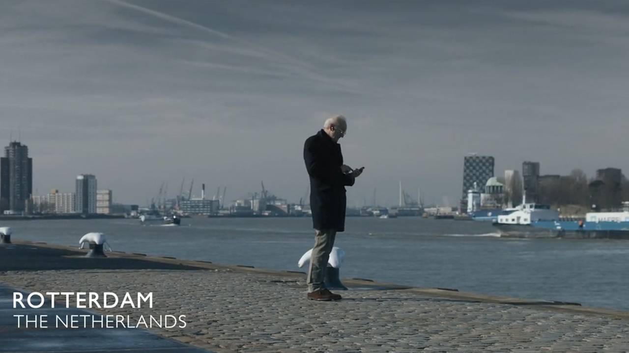 Charles Dance at the Maas in Rotterdam